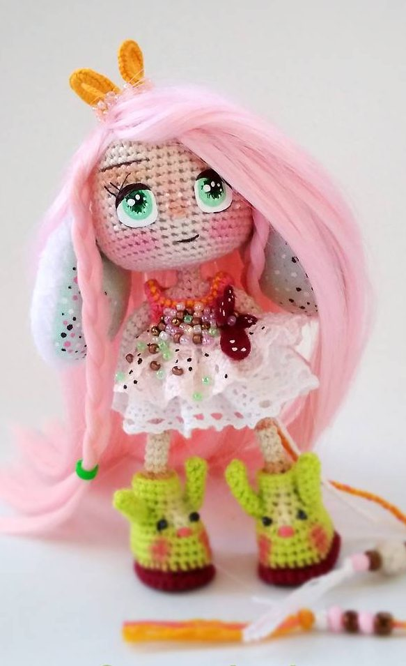 Crochet doll Amigurumi eyes with eyelashes - YouTube | 955x583