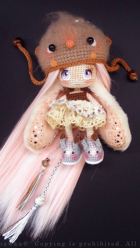 Little Red Pandora - Amigurumi Red Panda Girl Anime Doll | 810x459