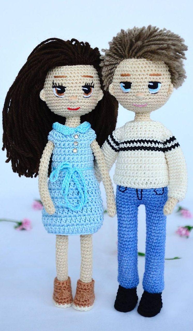 12+ Free Crochet Doll Clothes Patterns | FaveCrafts.com | 1276x746