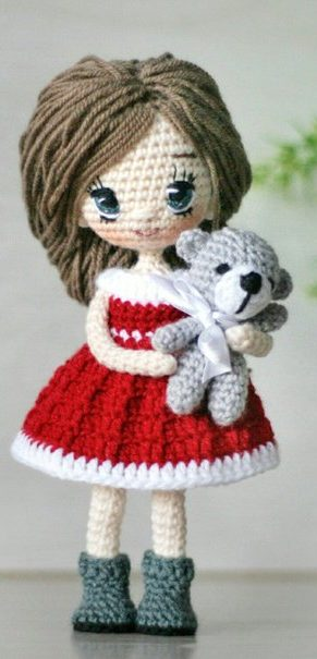 63+ Cute and Lovely Amigurumi doll Hand Crafts Pattern Ideas ... | 605x291