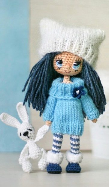 63 Cute and Lovely Amigurumi doll Hand Crafts Pattern Ideas Part ... | 623x363