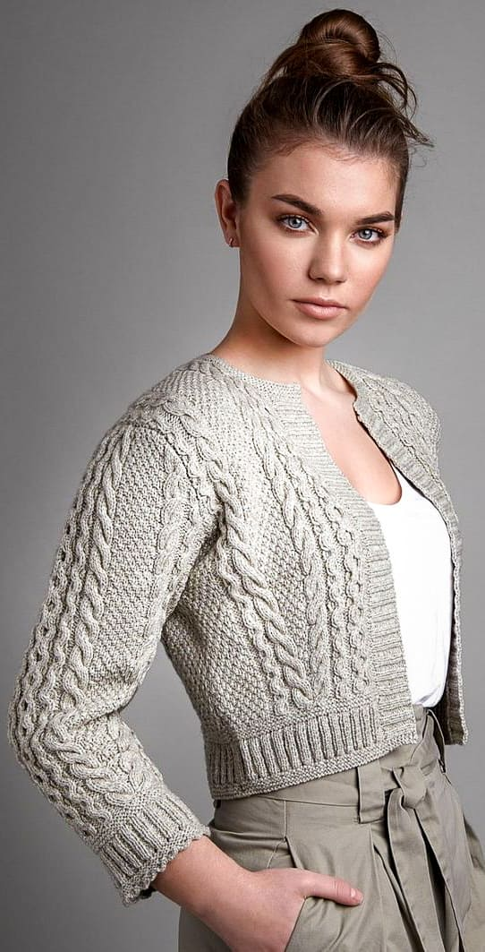 56 New Design And Awesome Crochet Cardigan Pattern Ideas