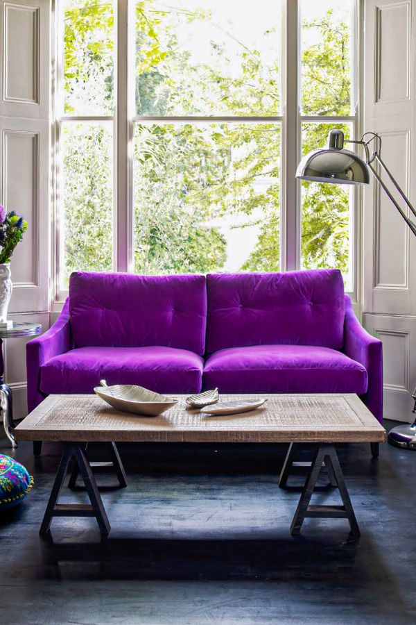 Violet Room Design: 39+ Colorful And Purple Living Room Design Ideas In This